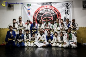 Projeto Drive-In, one of the jiu-jitsu outreach programs  that can be found throughout Rio de Janeiro