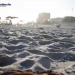 The beautiful golden-white sands of Barra beach