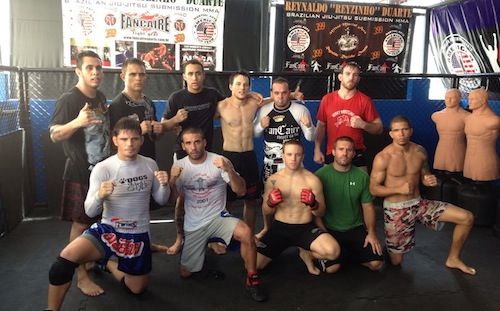 Training for the upcoming luta livre comp with Brazilian MMA fighters and American wrestling coaches