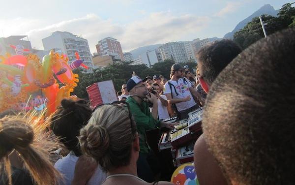Free live music on the streets of Rio de Janeiro