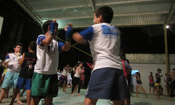 training muay thai in rio