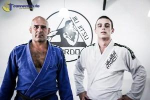 Andre with Roberto 'Gordo' in Rio de Janeiro