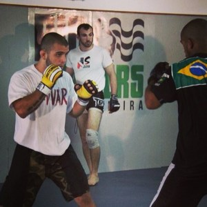 Torryn coaching at Rio Fighters