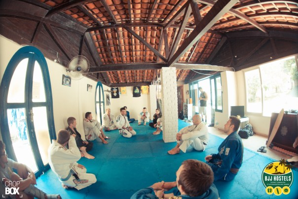 Robson Moura in-house CR BJJ Hostel Seminar