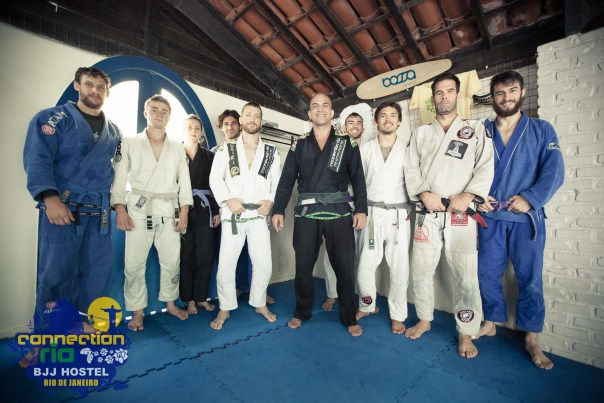 Mario Sperry at the BJJ Hostel
