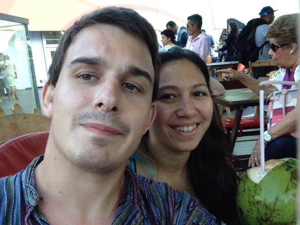 Jiu-jitsu couple in Rio