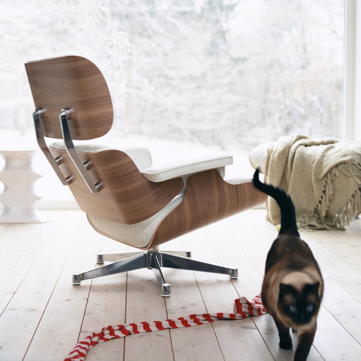 Vitra lounge chair amp ottoman white version von charles amp ray eames -  Ottoman White Version Von Charles Amp Ray Eames Vitra Lounge Chair Download