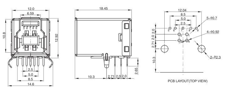 usb circuit board china usb circuit board