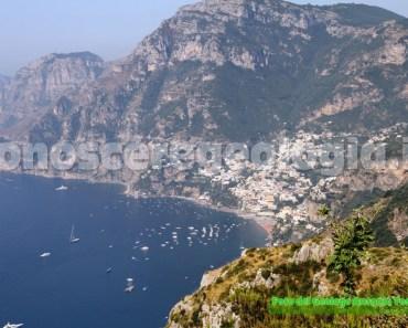 Positano dal Sentiero degli Dei Costa di Amalfi Costiera Amalfitana
