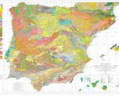 carta geologica spagna