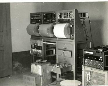 La stazione sismica mobile dell'ING (1971)