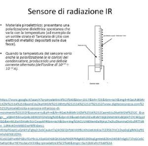 figura 2: sensore di radiazione ir