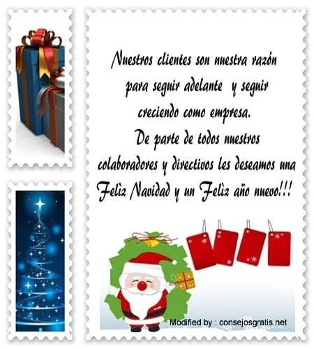 Cartas de Navidad para clientes de empresas Saludos de Navidad