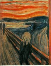 The Scream, by Edvard Munch (1893)