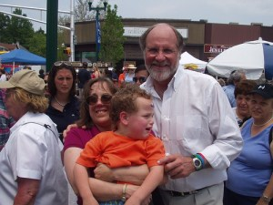 Jon Corzine, later head of MF Global Holdings
