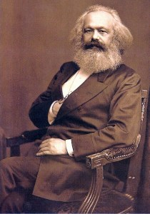Karl Marx. Inspiration for Obama?