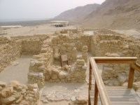 The village at Qumran where the Essenes wrote and packed the Dead Sea Scrolls. Photo: CNAV