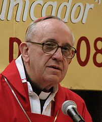 Pope Francis, a/ki/a Jorge Cardinal Bergoglio, earlier in his career