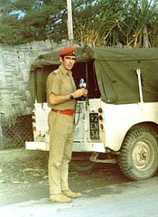 This soldier was in Cyprus in 1974. Will a soldier like that be patrolling in the USA?