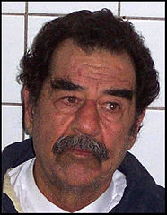Saddam Hussein after his capture.