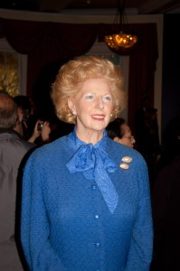 Margaret Thatcher immortalized in wax