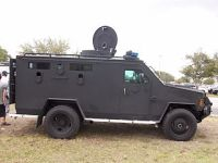 Militarized police vehicle