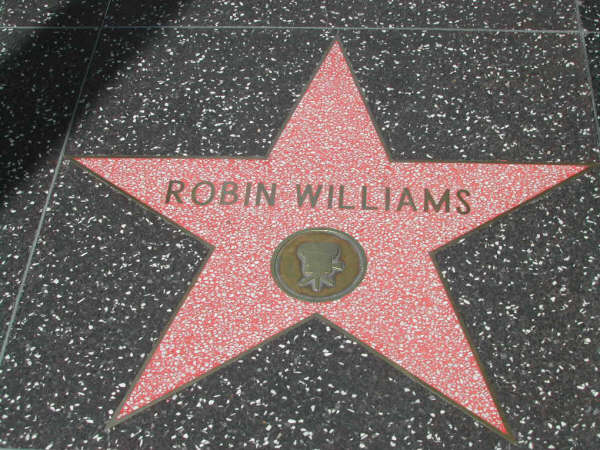 Robin Williams star