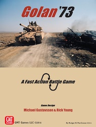 Golan '73 (new from GMT Games)
