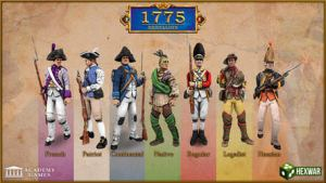 1775: Rebellion available on Steam (new from HexWar & Academy Games)