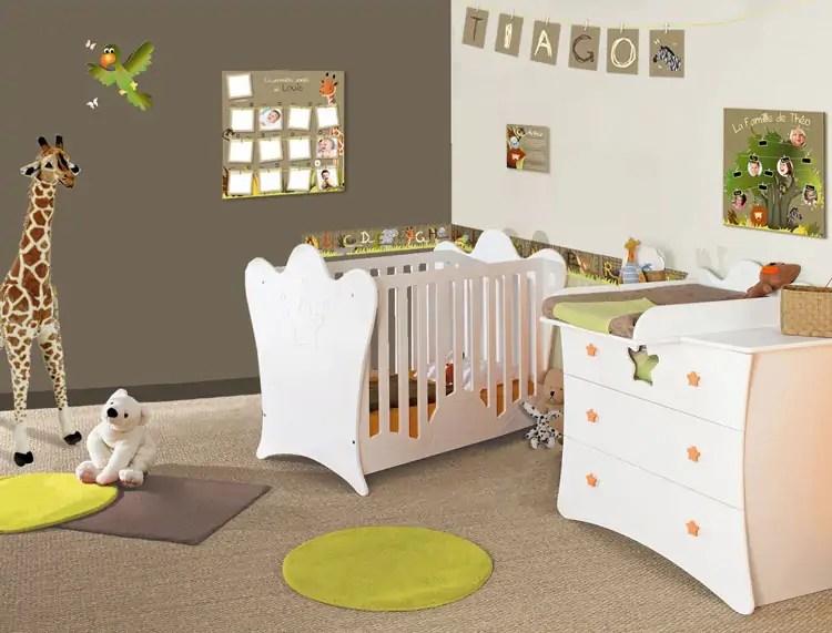 Aménager la chambre de bébé  quelle ambiance ?