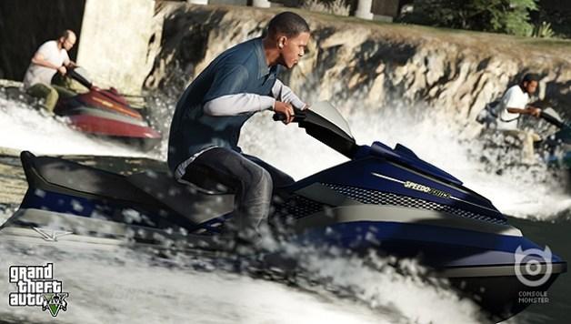 GTA V tops UK Video Games Chart