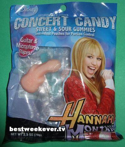Miley Cyrus Phallic Candy