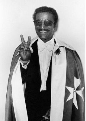 Sammy Davis Jr. Knight of Malta