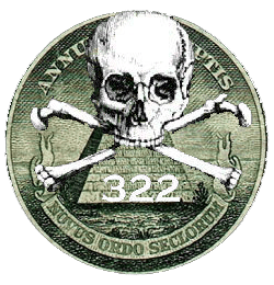 Illuminati Seal Skull & Bones