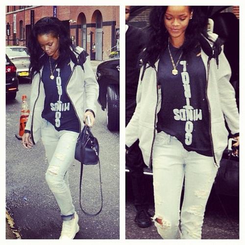 Rihanna Control Mnds Shirt