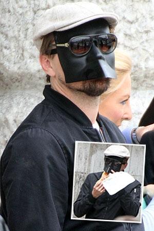 Leo Dicaprio Mask