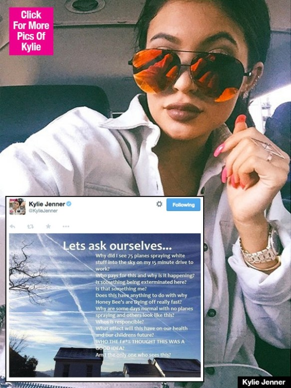 Chemtrails Theorist Kylie Jenner