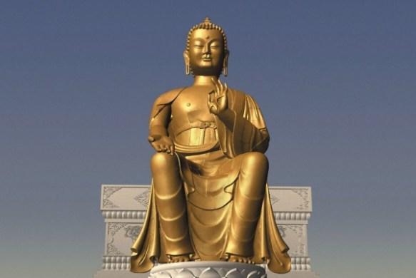 Maitreya Statue Illuminati