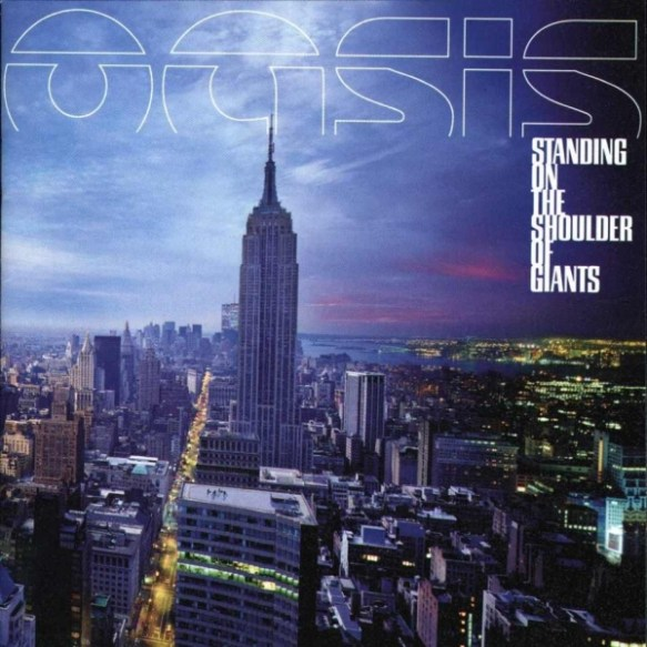 Oasis Standing Should of Giants Album Cover