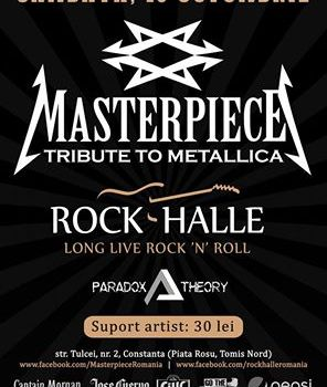 Concert Masterpiece (tribut Metallica) la Rock Halle