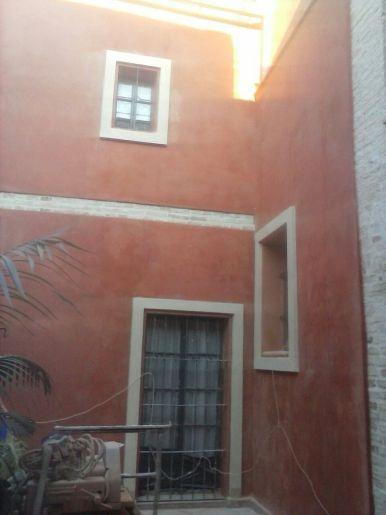 Reforma fachada patio