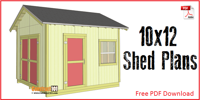 10x12 Shed Plans Gable Shed Storage ...  sc 1 st  Listitdallas & 10x12 Storage Shed Plans Free - Listitdallas