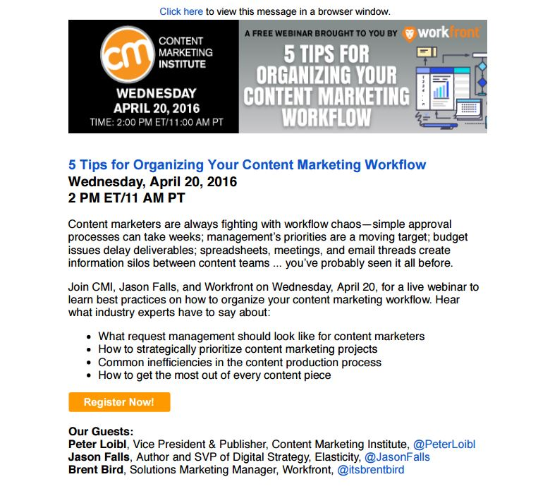 6 Things Content Marketers Should Know About Effective Email Marketing