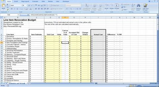 Construction Budget Worksheet Free Worksheets Library Download - sample construction budget