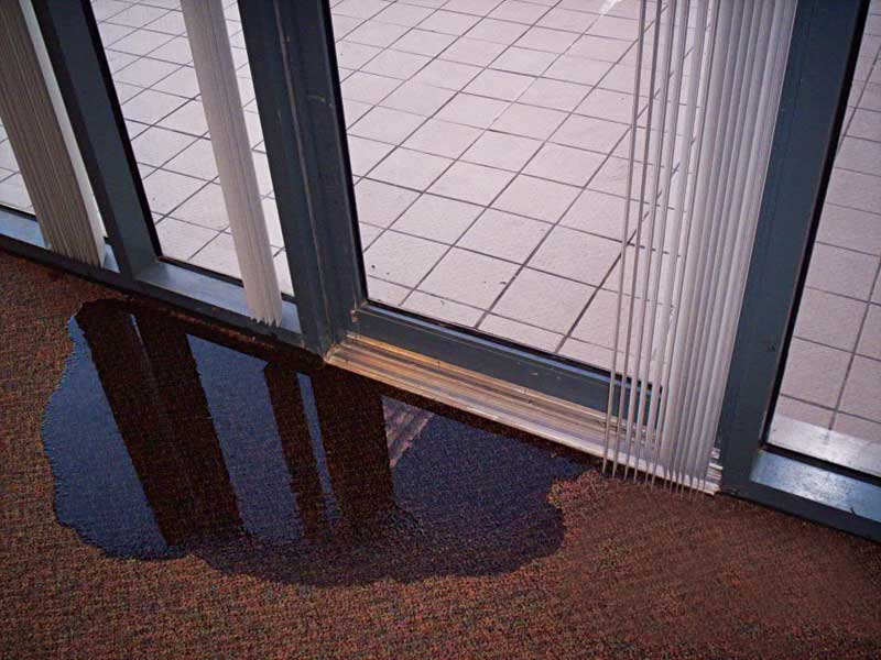 understanding why doors leak