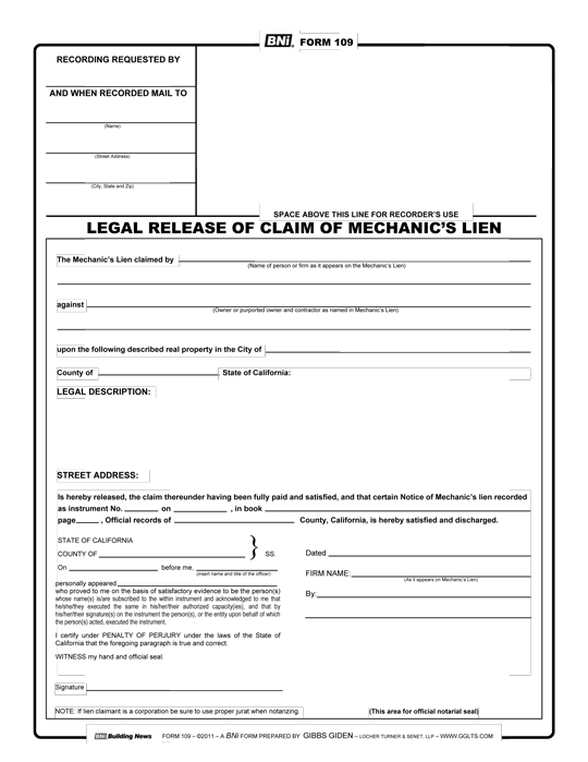 contractor payment affidavit template