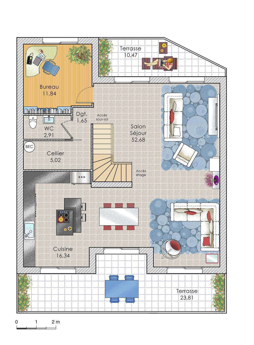 Faire construire sa maison plan maison moderne - Faire un plan de sa maison ...