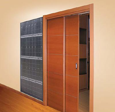 Sistema para puertas correderas modelo Paralelo de Openspace - Modelo De Puertas Corredizas