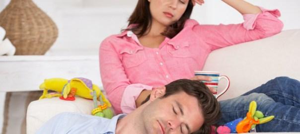 genitori assonnati