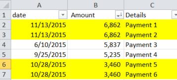 Consultantsmind - Sort by amount
